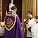 Ash Wednesday, Low Mass, March 5, 2014 photo album thumbnail 1